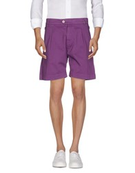 Galliano Bermudas Purple