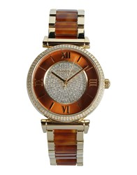 Michael Kors Timepieces Wrist Watches Women Gold