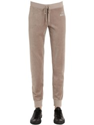 Juicy Couture Crystal Logo Velour Sweatpants