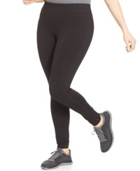 Ideology Plus Size Slimming Leggings Only At Macy's Black