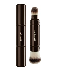 Hourglass Retractable Double Ended Complexion Brush