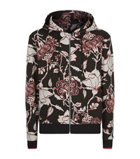 Mcq By Alexander Mcqueen Floral Print Jacket Male Black