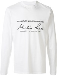 Martine Rose Aw'91 Collection T Shirt 60