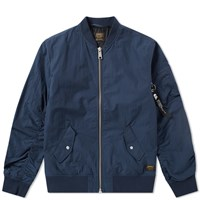 Carhartt Adams Ma 1 Bomber Jacket Blue