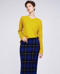 Aspesi Wool Sweater Acid Yellow