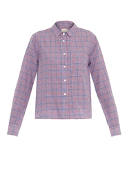 Band Of Outsiders Summer Checked Box Fit Shirt