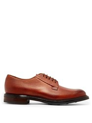 Cheaney Deal Grained Leather Derby Shoes Burgundy