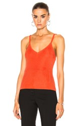 Protagonist Knit Camisole In Red