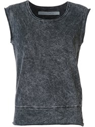 Raquel Allegra Sleeveless Tank Black