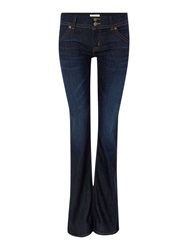 Hudson Jeans Signature Bootcut Jean In Firefly Denim Dark Wash