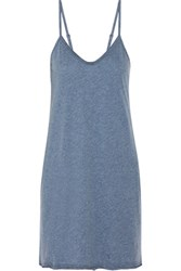Skin Pima Cotton Chemise Blue