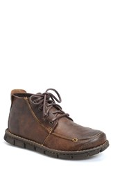 Brn Men's B Rn 'Neuman' Moc Toe Boot Dark Brown