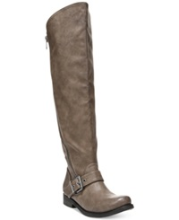 Carlos By Carlos Santana Gramercy Wide Calf Tall Boots Women's Shoes Taupe