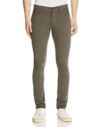 3X1 M3 New Tapered Fit Jeans In Military Green