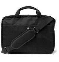 Nn.07 Nn07 City Nylon Briefcase Gray