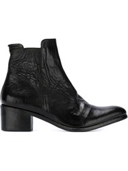 The Last Conspiracy Pointed Toe Ankle Boots Black