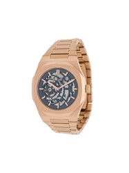 D1 Milano Skeleton Watch Pink