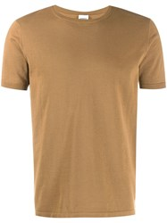 Aspesi Classic Fitted T Shirt Brown