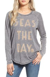 Rip Curl Women's Seas The Day Graphic Tee