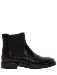 Tod's 20Mm Brogue Leather Chelsea Boots