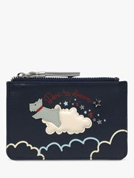 Radley Dare To Dream Small Leather Coin Purse Ink