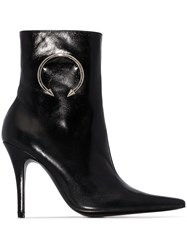 Dorateymur Panther 110Mm Ankle Boots Black