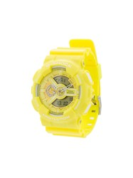 G Shock Protection Rubber Watch Green