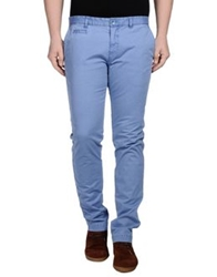 Manuel Ritz Casual Pants Pastel Blue