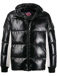 Colmar Contrast Zipped Jacket Black