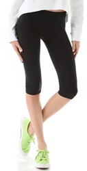 Solow Spinning Cropped Pants Black