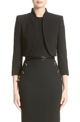 Michael Kors Women's Stretch Boucle Crepe Bolero