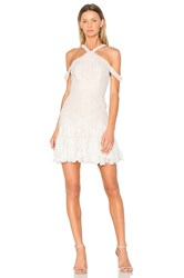Bcbgmaxazria Leighann Dress White