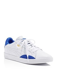 Puma Match Lo Basic Sports Lace Up Sneakers White