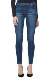Good American Women's The Slim Zip High Waist Ankle Skinny Jeans Blue 013