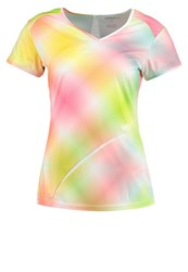 Craft Breakaway Sports Shirt Faded Multi Multicoloured
