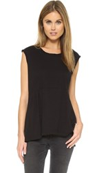 Wilt Shirted Baby Doll Tee Black