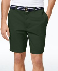 Club Room Men's Big And Tall Flat Front Shorts Only At Macy's Duffel Bag