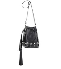 Saint Laurent Small Y Leather Bucket Bag Black