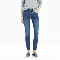 Madewell 9' High Riser Skinny Skinny Crop Jeans In Bayview