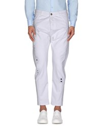 Yes London Trousers Casual Trousers Men White