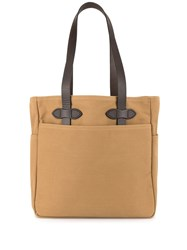 Filson Cloth Tote Bag Brown