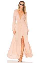 Ale By Alessandra Eduarda Maxi Dress Blush
