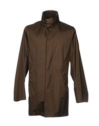 Montecore Overcoats Dark Brown