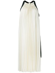 3.1 Phillip Lim Pleated Midi Dress Off White