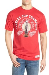 Men's Mitchell And Ness 'Detroit Red Wings Stanley Cup' Graphic T Shirt