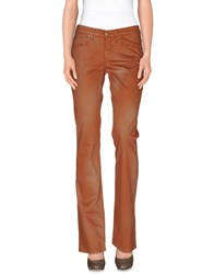 Angelo Marani Trousers Casual Trousers Women Brown