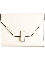 Valextra 'Iside' Wallet White