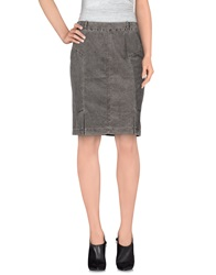 Fabiana Filippi Knee Length Skirts Beige