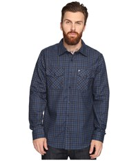 Hurley Cascade Dri Fit Flannel Obsidian Men's Clothing Brown