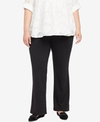 Motherhood Maternity Plus Size Boot Cut Pants Black